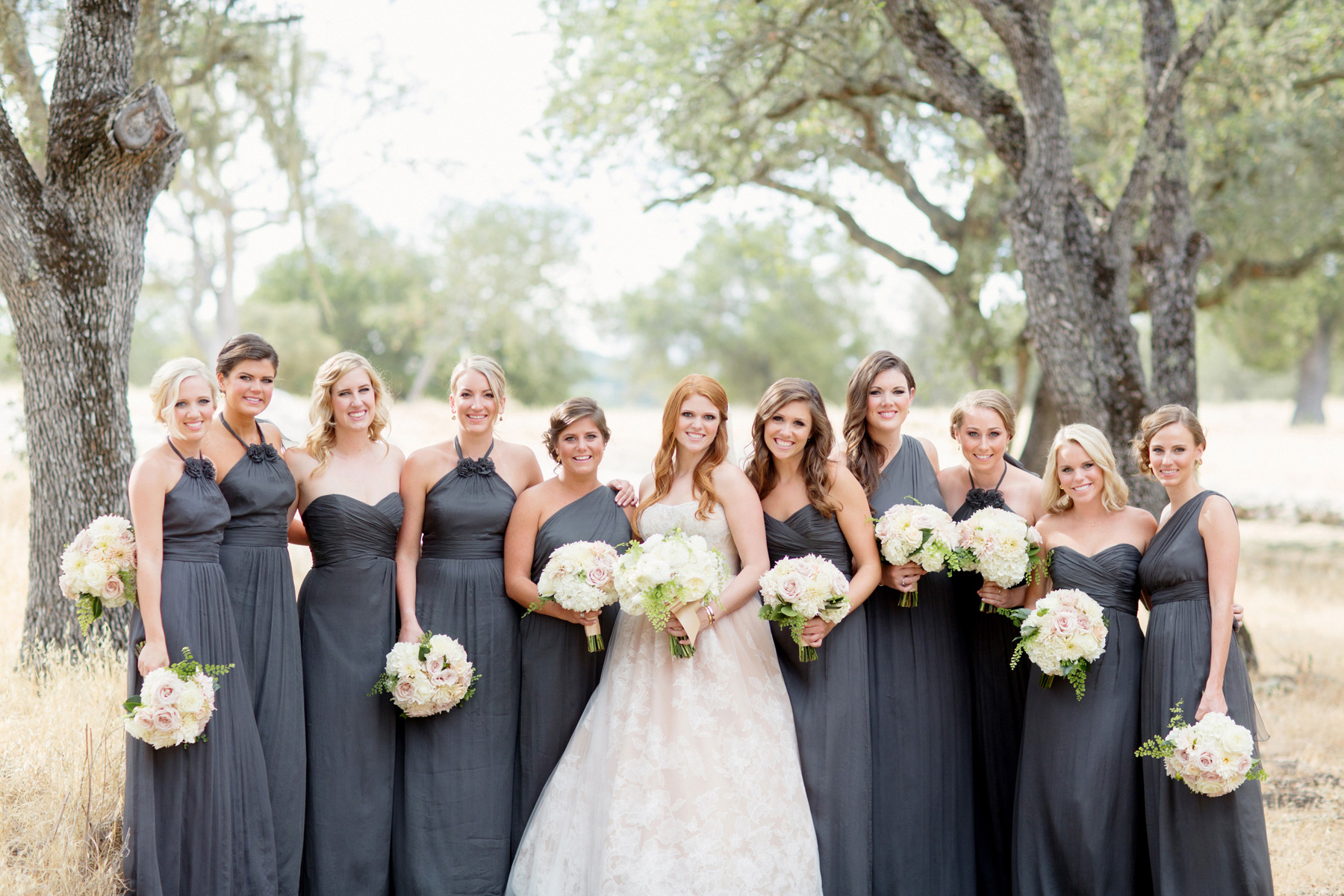 Wedding planning update jessica maccleary mismatched bridesmaid dresses ombrellifo Gallery